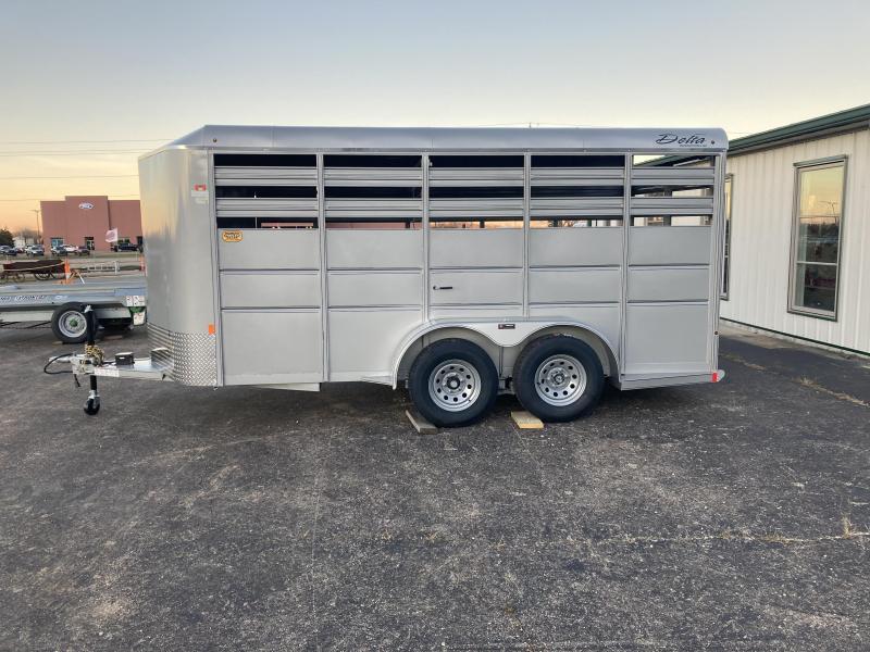 2021 Delta Manufacturing 500 Combo - Standard Livestock BP Livestock Trailer