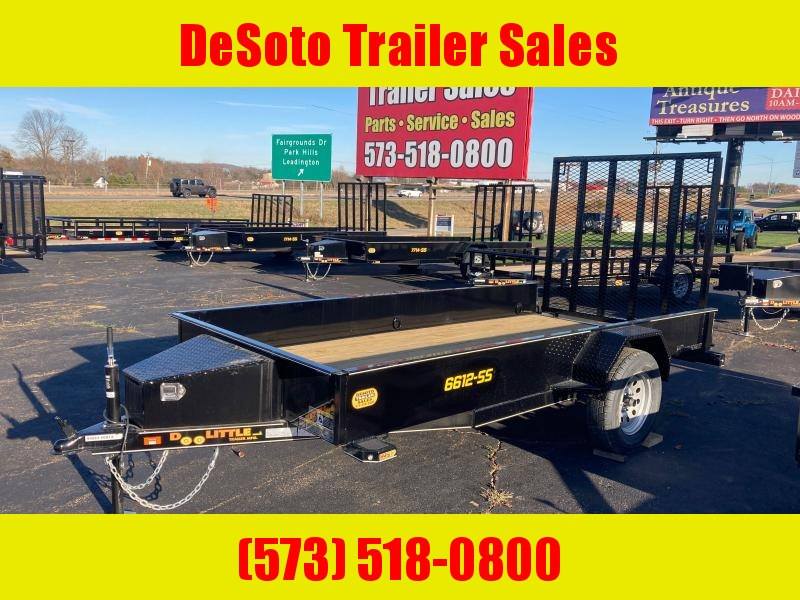 2021 Doolittle Trailer Mfg UT66X123K Utility Trailer
