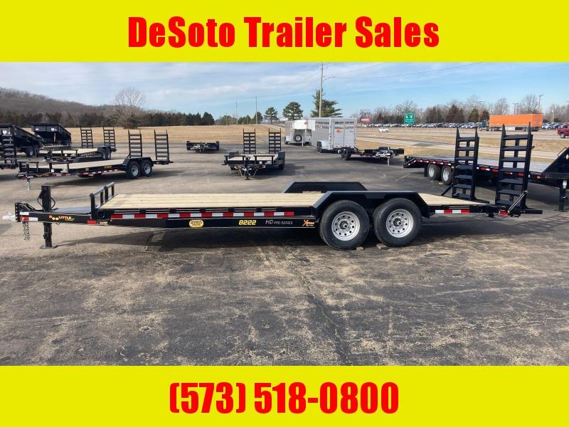2021 Doolittle Trailer Mfg XT822214K (20+2) Equipment Trailer