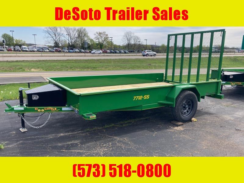 2021 Doolittle Trailer Mfg UT77X123KSS Utility Trailer