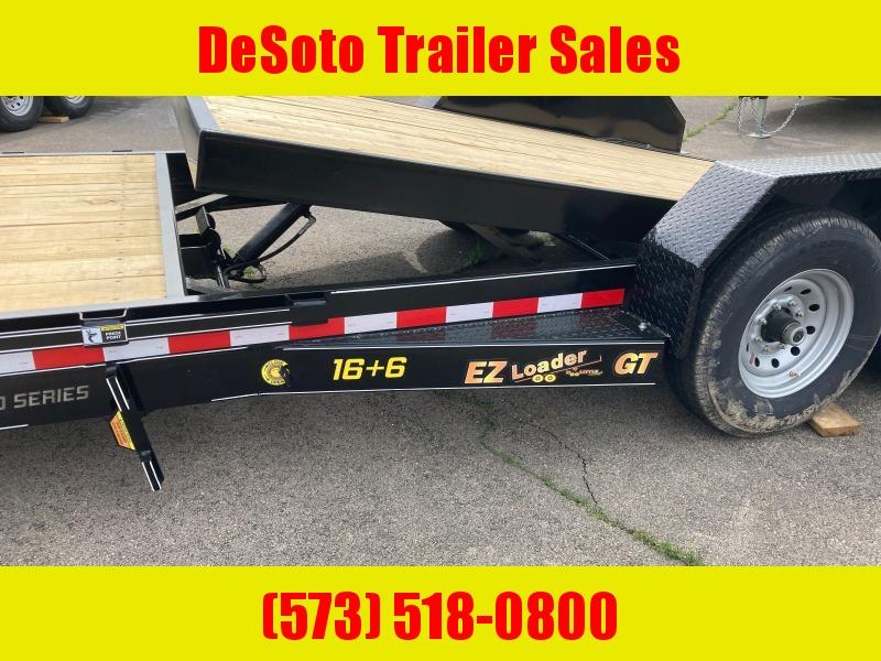 2021 Doolittle Trailer Mfg 82 x 22 14K EZ Loader GT (16 + 6) Tilt Bed Equipment Trailer