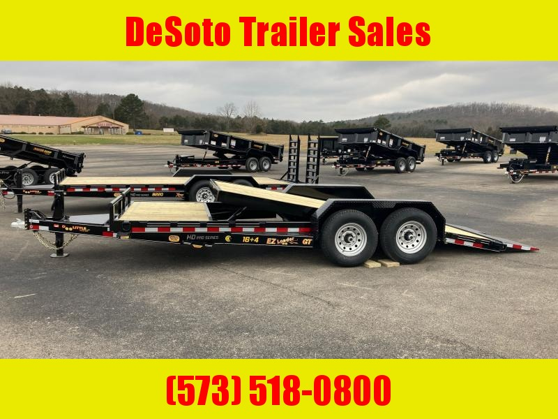 2021 Doolittle Trailer Mfg GT822014K Equipment Trailer