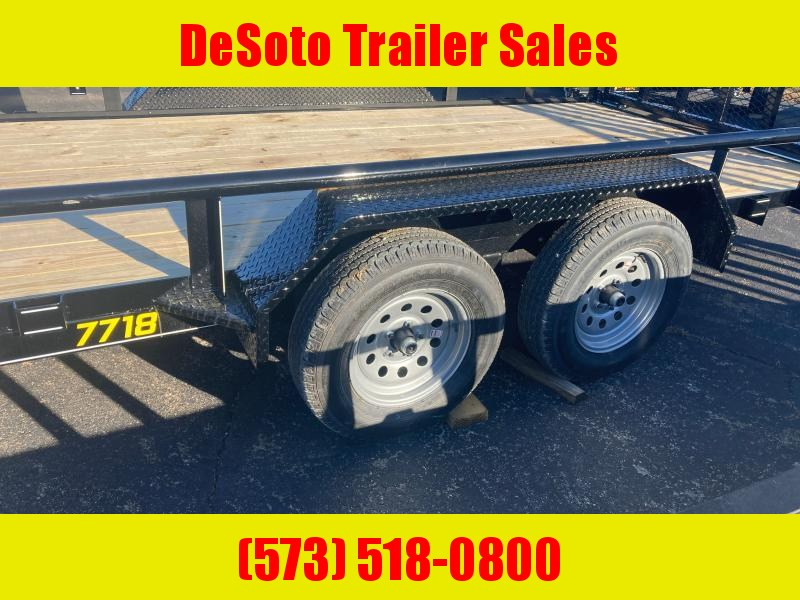 2021 Doolittle Trailer Mfg UT77X187K Utility Trailer