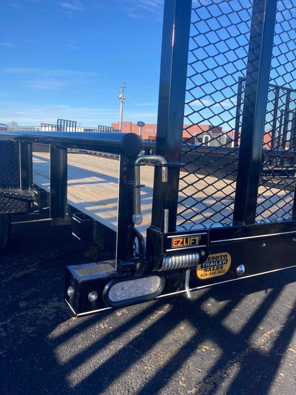 2021 Doolittle Trailer Mfg UT77X187K Utility Trailer