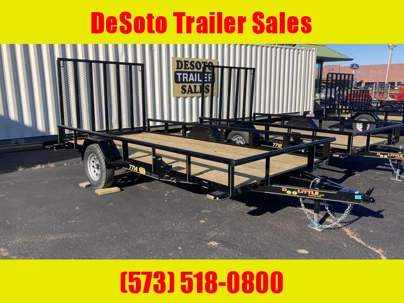 2021 Doolittle Trailer Mfg UT77X143K Utility Trailer
