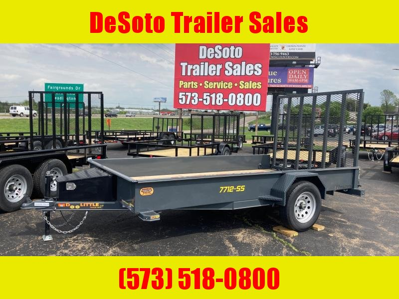 2021 Doolittle Trailer Mfg UT77X123KSS Utility Trailer