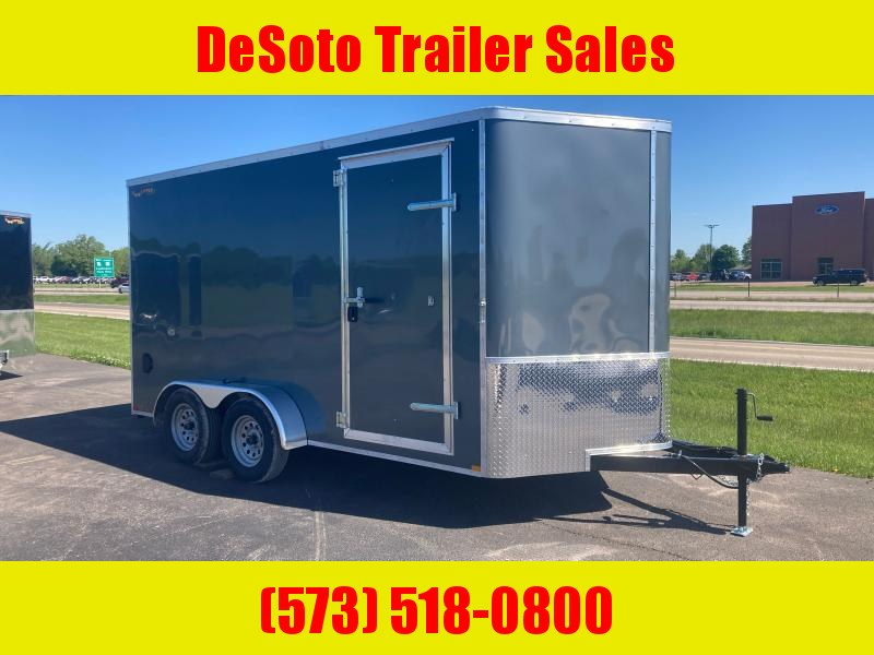 2021 Doolittle Trailer Mfg 7x14 7K T/A Enclosed Cargo Trailer