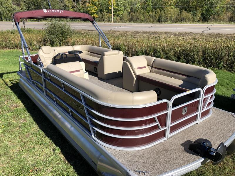 2021 Godfrey Pontoon Boats SW 2286 C Pontoon Boat