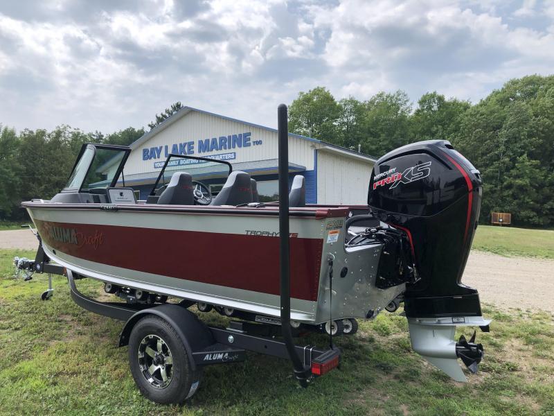 2022 Alumacraft Trophy 175 Fishing Boat