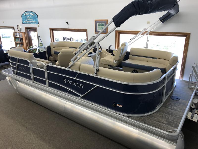 2022 Godfrey Pontoon Boats SW 2086 SB Pontoon Boat