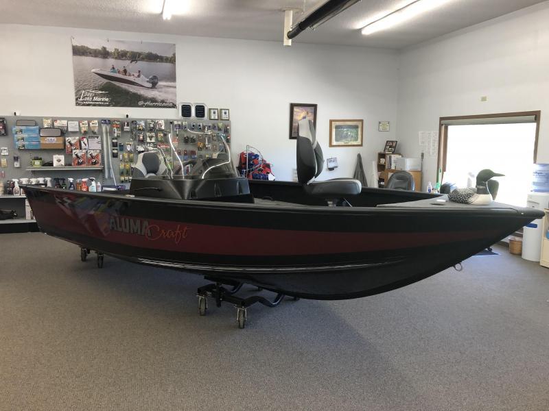 2021 Alumacraft Competitor 175 CS Fishing Boat