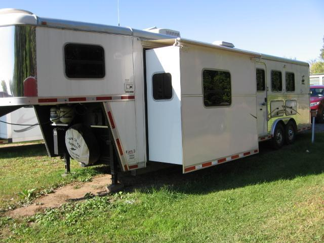 2008 American Spirit 8314LQ/SL Horse Trailer