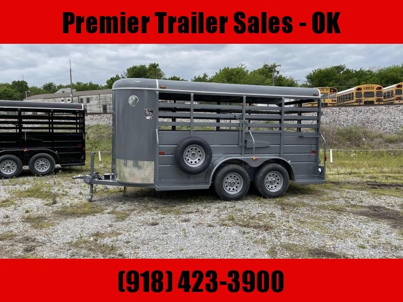 2021 W-W Trailer ALL ROUND STOCK TRAILER Livestock Trailer