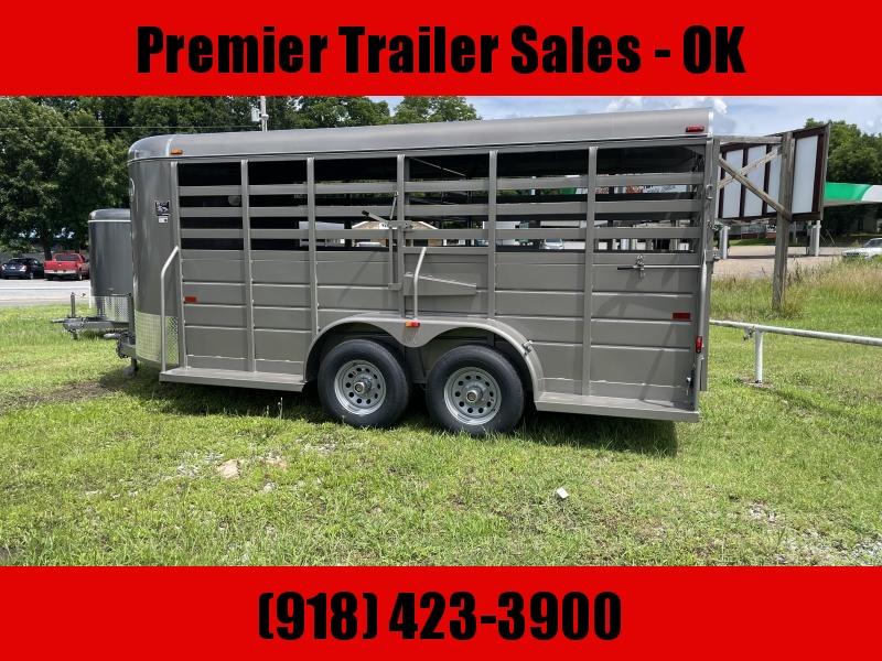 2021 W-W Trailer WW ALL ROUND STOCK TRAILER Livestock Trailer