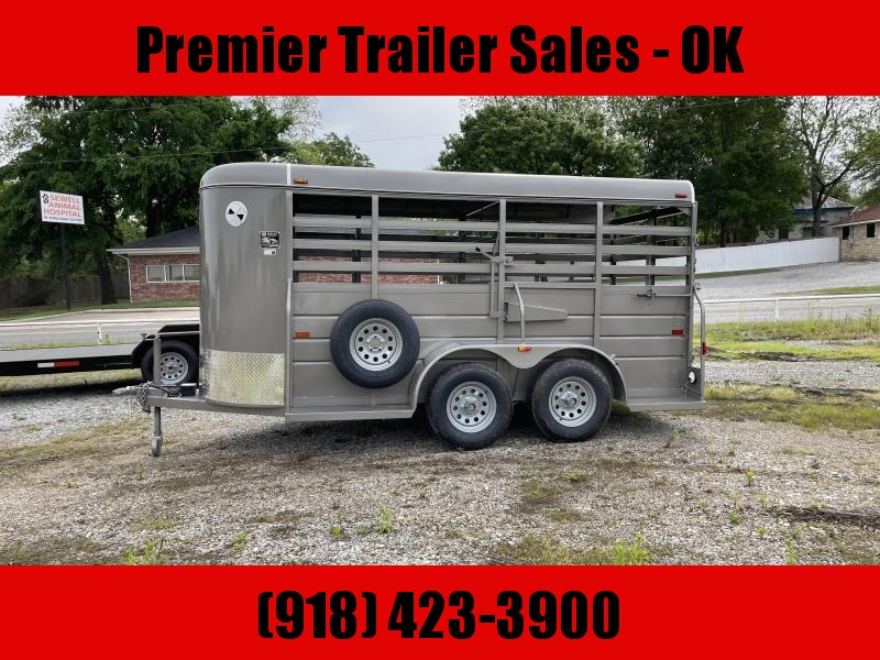 2021 W-W Trailer ALL ROUND STOCK TRAILER Livestock Trailer