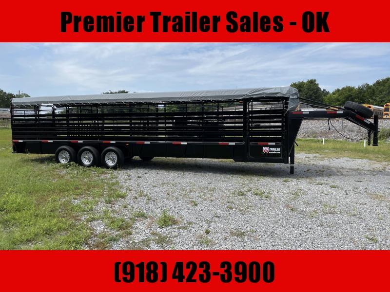 2021 W-W Trailer Roustabout livestock trailer Livestock Trailer