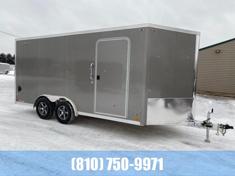 2021 Legend Trailers 8x19 Flat-Top V-Nose Enclosed Cargo Trailer