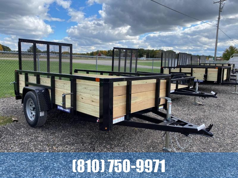 2021 Sure-Trac 5x10 3-Board High Side Utility Trailer