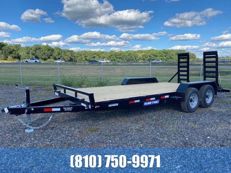 2021 Sure-Trac 7x18 10K Equipment Trailer