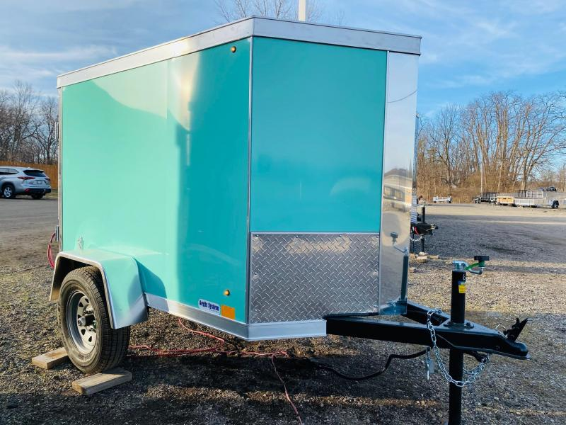 2022 Cross Trailers 4x6 Enclosed Cargo Trailer