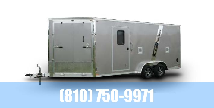2021 Legend Trailers 7.5X29 Explorer 4-Place Snowmobile Trailer