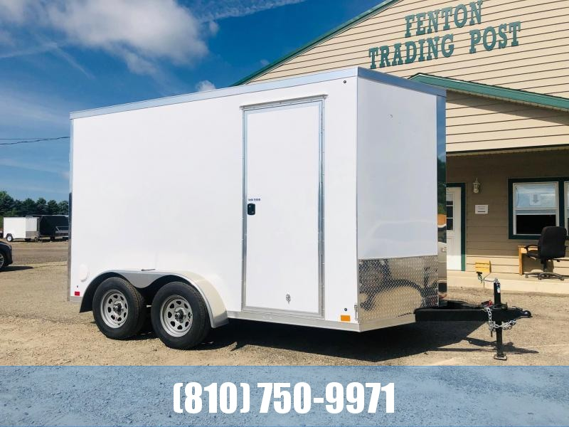 2021 Cross Trailers 7 x 12 TA Enclosed Cargo Trailer