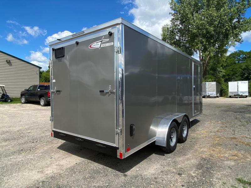 2021 Cross Trailers 7 x 18 TA Enclosed Cargo Trailer