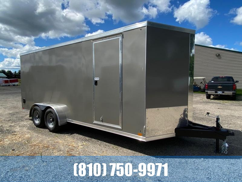 2021 Cross Trailers 7 x 18 TA Enclosed Cargo Trailer