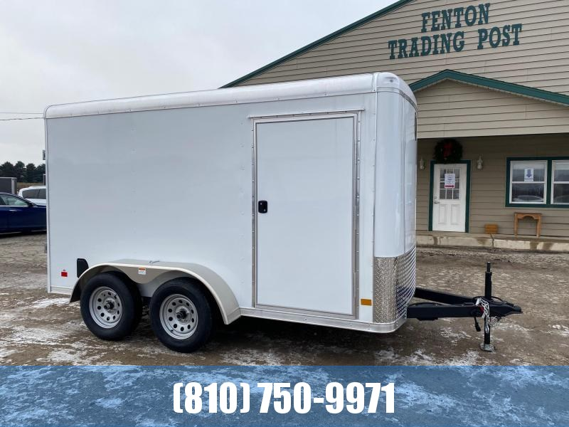 2021 Darkhorse Cargo 6x12 Round Top Enclosed Cargo Trailer