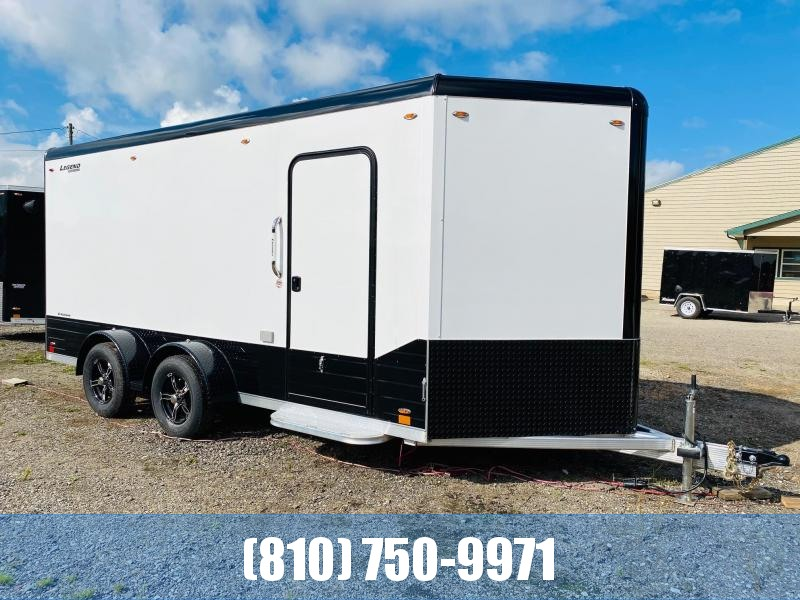 2021 Legend Trailers 7X19 Deluxe V-Nose Enclosed Cargo Trailer