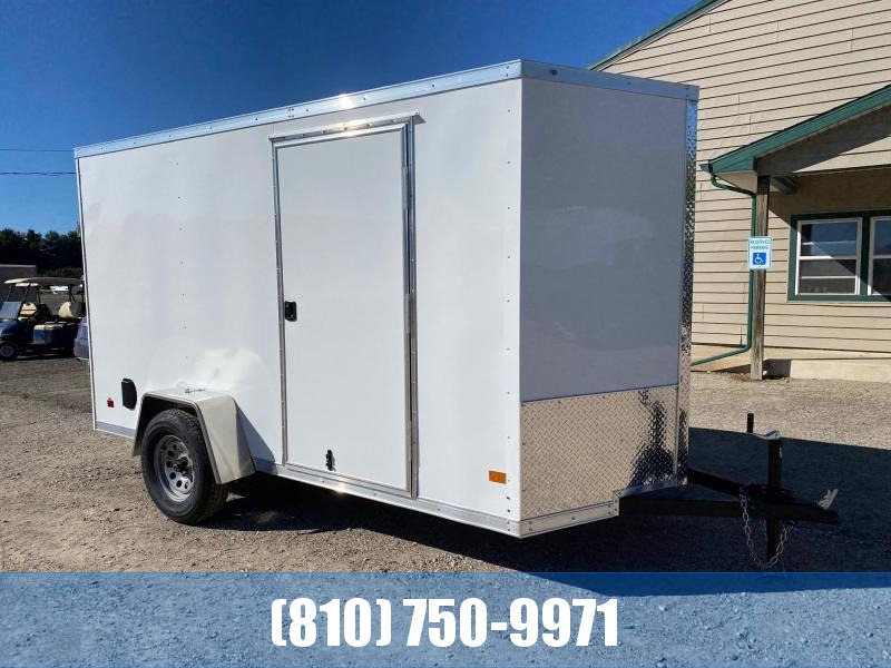 2021 Darkhorse Cargo 6x12 V-Nose Enclosed Cargo Trailer