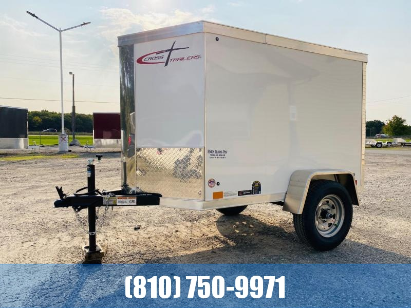 2021 Cross Trailers 4x6 Enclosed Cargo Trailer