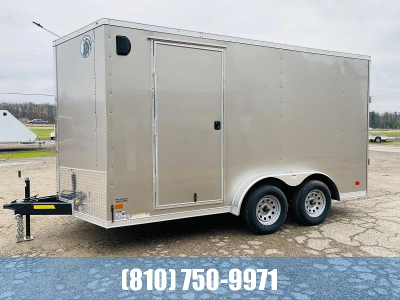 2021 Darkhorse Cargo 7.5X14 Enclosed Cargo Trailer