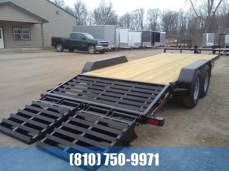 2021 Sure-Trac 7x20 Universal Ramp Equipment Trailer