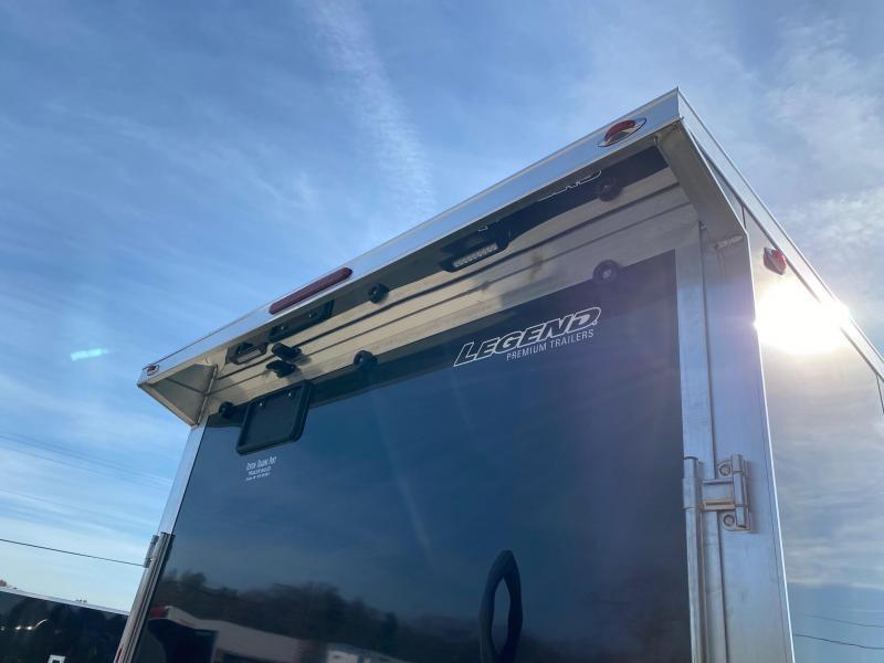 2021 Legend Trailers 7.5X31 5-Place Inline Snowmobile Trailer