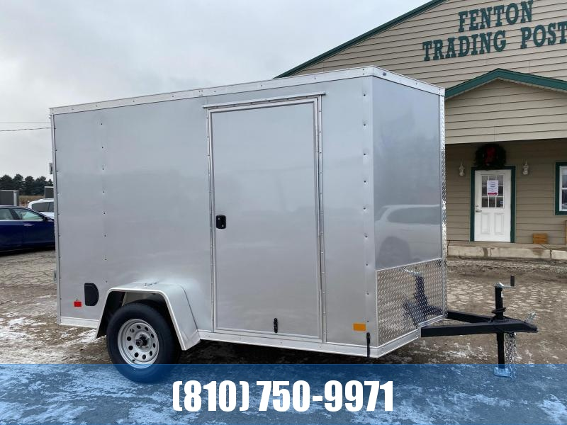 2021 Darkhorse Cargo 6x10 V-Nose Enclosed Cargo Trailer