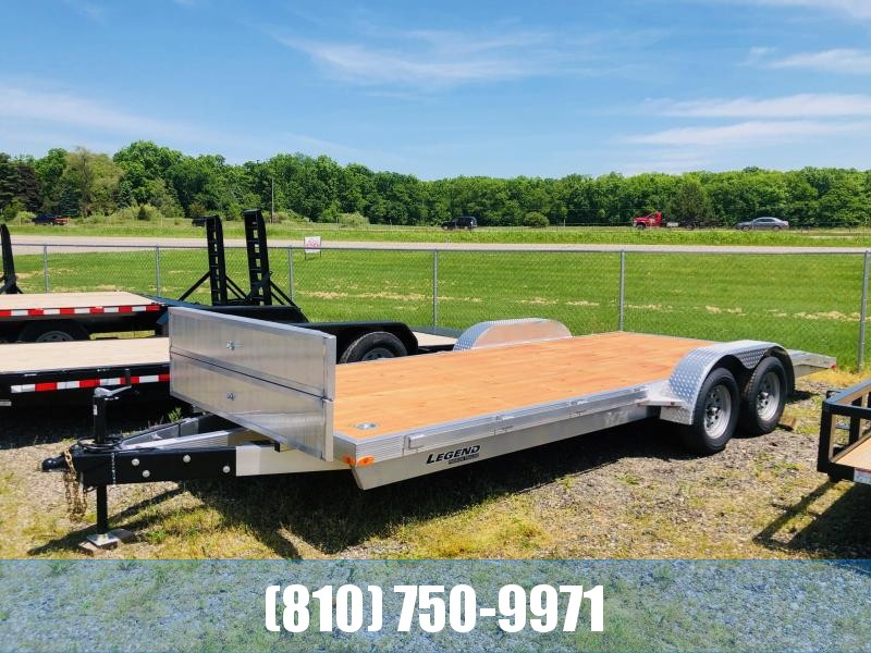 2021 Legend Trailers 7x20 Aluminum Car Hauler