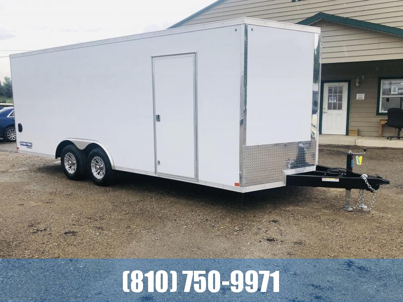 2021 Sure-Trac 8.5x20 Pro Series Wedge Cargo (STW10220TA) Enclosed Cargo Trailer