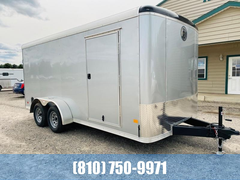 2021 Darkhorse Cargo 7x16 Round Top Enclosed Cargo Trailer