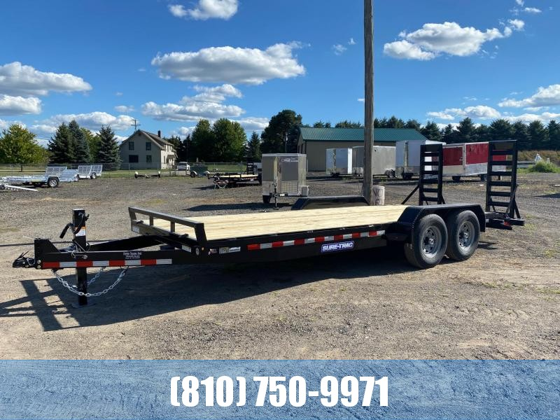 2021 Sure-Trac 7x20 14K Equipment Trailer