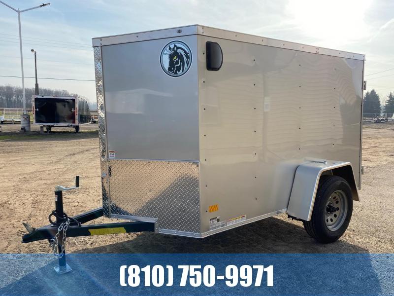 2021 Darkhorse Cargo 5X8 Enclosed Cargo Trailer