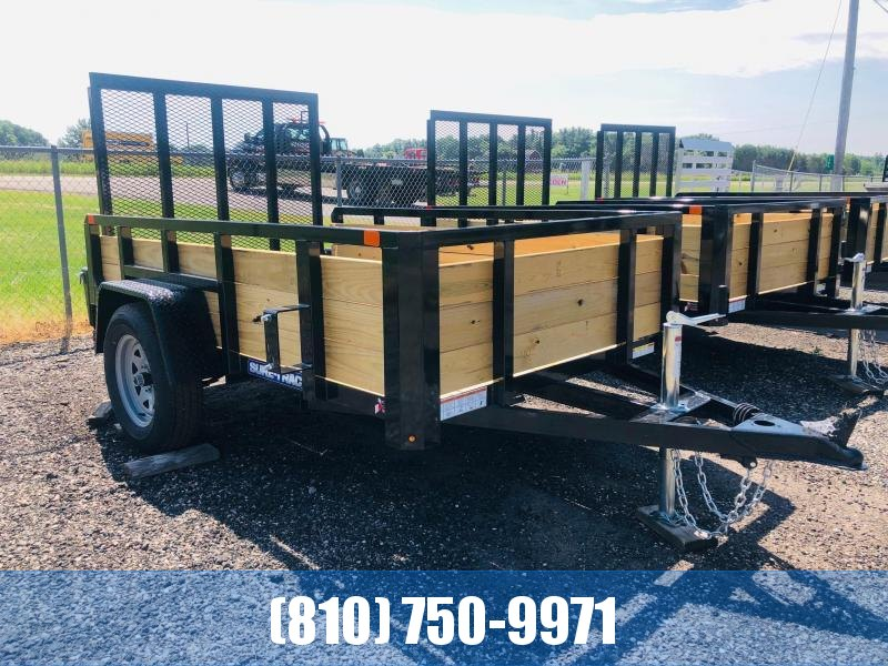 2021 Sure-Trac 5x8 3-Board High Side Utility Trailer