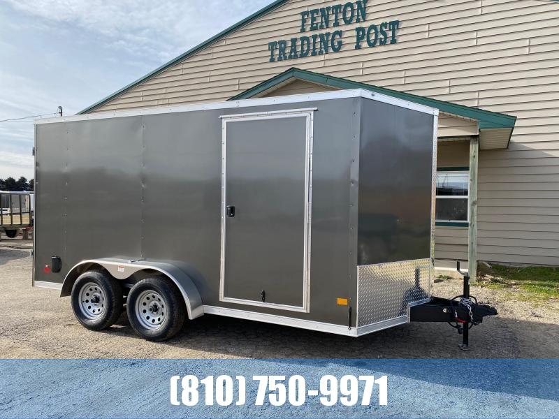 2021 Darkhorse Cargo 7X14 Enclosed Cargo Trailer with Double Doors