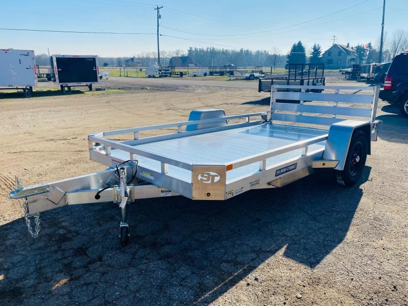 2021 Sure-Trac 7X12 Aluminum Low Side Utility Trailer