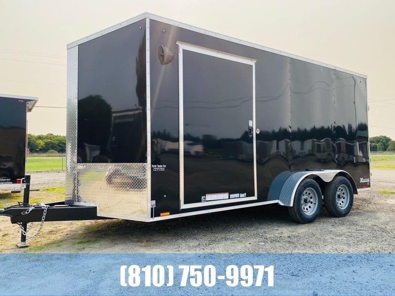 2022 Cargo Express 7x16 Enclosed Cargo Trailer