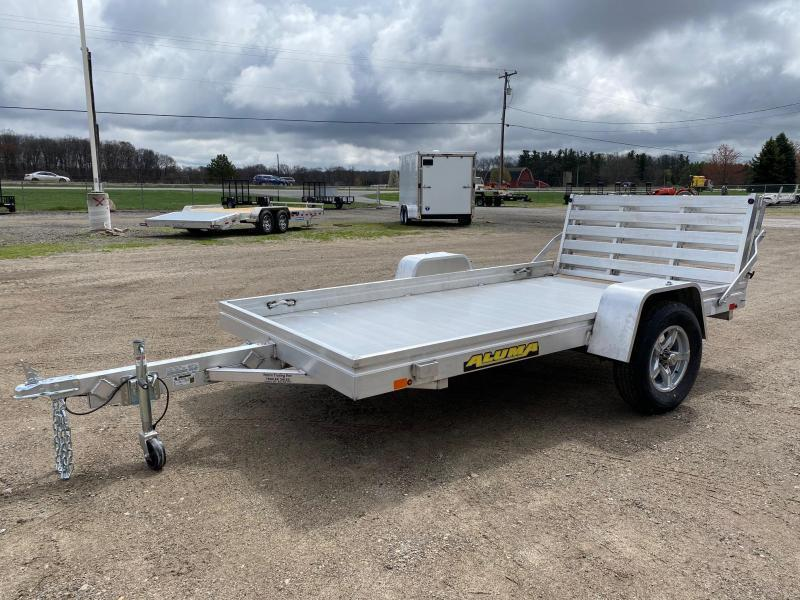 "2022 Aluma 6810H Utility Trailer with Bi-Fold Tailgate (68"" Wide x 10' Long)"