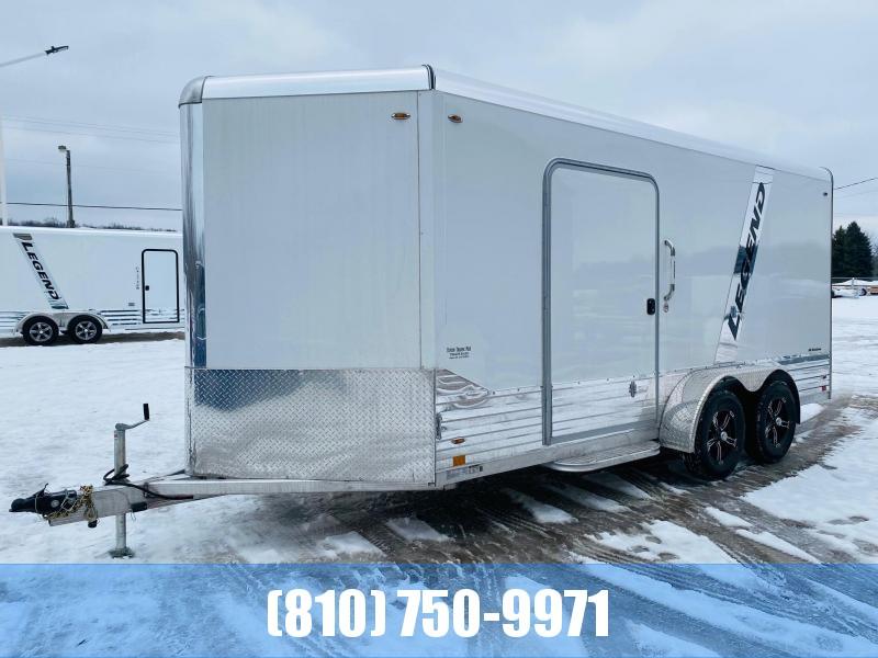 2021 Legend Trailers 7x19 (16' Box + 3' V-Nose) Enclosed Cargo Trailer