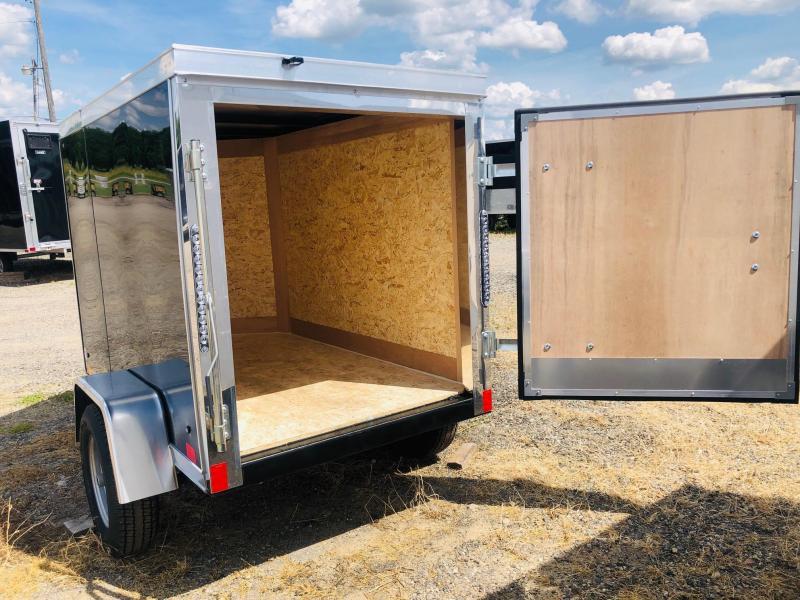 2022 Cross Trailers 4x6 Enclosed Cargo Trailer