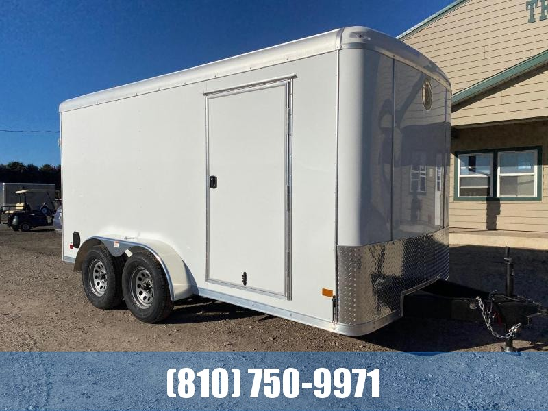 2021 Darkhorse Cargo 7x14 Round Top Enclosed Cargo Trailer