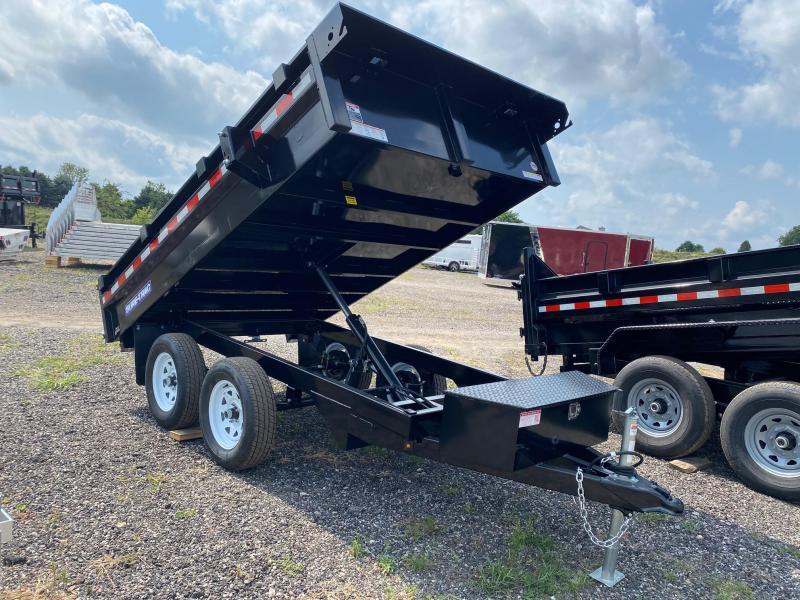 2022 Sure-Trac 6x10 7K Deckover Dump Trailer